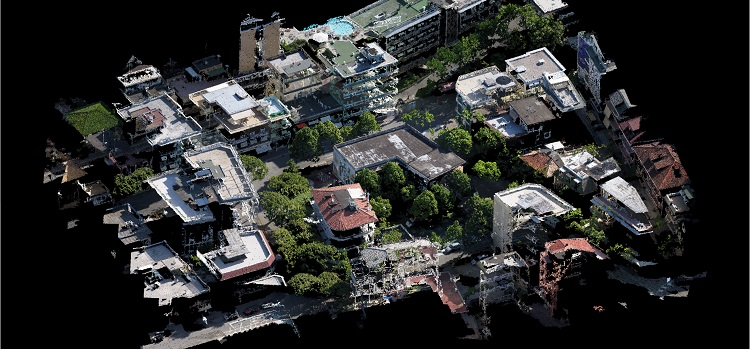 Point cloud and 3d model recostruction - Aerial detection